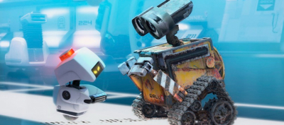 Wall-e on dvd image