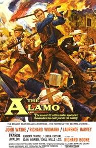 The alamo with john wayne poster