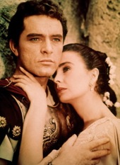 Richard burton jean simmons the robe