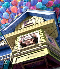 Up blu-ray image pixar movie