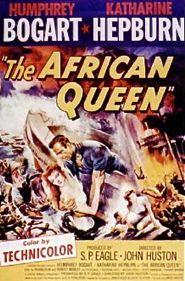 African queen poster bogart
