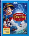 Pinocchio blu ray cover