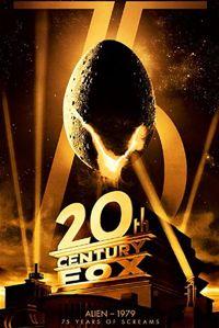 Alien poster for new fox blu-ray